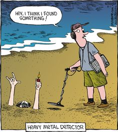 Heavy metal detector