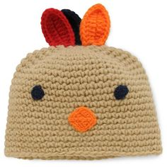 Just One YouMade by Carter's Baby Turkey Hat, Infant Unisex, Size: M, Brown