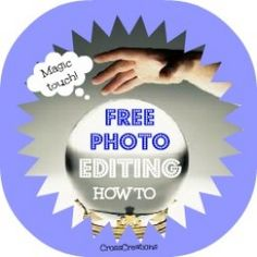 Great collection of free image editing tools with samples of what you can create using your digital pics and free web based photo editors.  CrossCreations