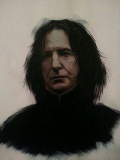 "*(Alan Rickman Web) liliemsharpe:  ""Severus Snape  """
