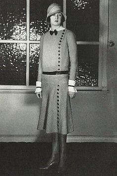 Un tailleur Lanvin, 1925
