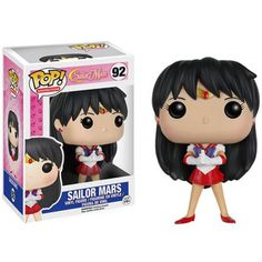 Description From Sailor Moon, Sailor Mars, as a stylized POP vinyl from Funko! Figure stands 3 inches and comes in a window display box. Check out the other Sailor Moon figures from Funko! Collect them all! Sailor Mars, Sailor Moon Luna, Sailor Venus, Sailor Jupiter, Pop Vinyl Figures, Anime Pop Figures, Animation, Chibi, Funko Pop Anime