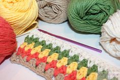 Double Crochet Cluster Tutorial  #howto #crochet #simple