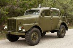 1956 Volvo TP-21 Sugga Swedish Military 4WD Car,