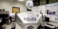 """These new police robots, designed to """"intimidate and display a sense of authority,"""" are undergoing their final tune-ups and will be on the streets as early as next year."""