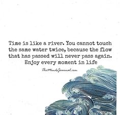 times is like a river