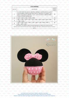 Los Productos de Ruca's: Reto Rucagurumis VI - Mantita de Apego Mickey / Minnie…