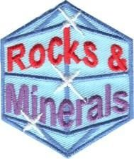 Rocks and Minerals fun patch. Iron-on! #6881100 | $1.50