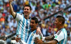 Mundial 2014. Nigeria 2-3 Argentina.
