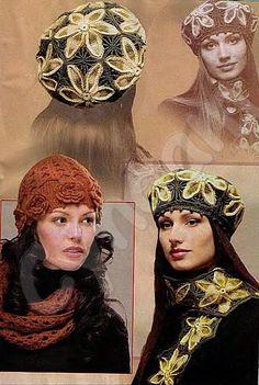 Красивые вязаные шапочки с описанием и схемами