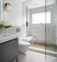 Affordable Stone Tiles Designs For Bathroom Shower 32 Family Bathroom, Modern Bathroom, Bathroom Ideas, Bathroom Showers, Simple Bathroom, Bathroom Designs, Bathroom Interior, Luxury Shower, Shower Units