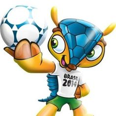 Mascote Copa 2014