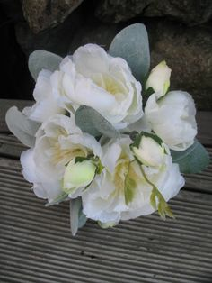 SILK David Austin Rose Bouquet whites creams by Keepsakebouquets Flax Flowers, David Austin Roses, Rose Bouquet, Bouquets, Wedding Flowers, Silk, Handmade Gifts, Etsy, Kid Craft Gifts
