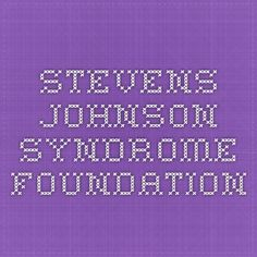 Stevens Johnson Syndrome Foundation