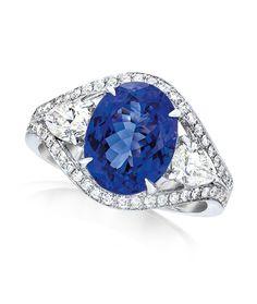 Cellini Jewelers. Tanzanite & Diamonds.
