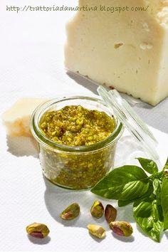 Pesto di pistacchi! - Trattoria da Martina - cucina tradizionale, regionale ed etnica