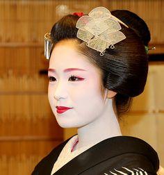 Maiko #japan #kimono #geisha