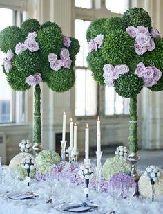 Centre de table mariage 14