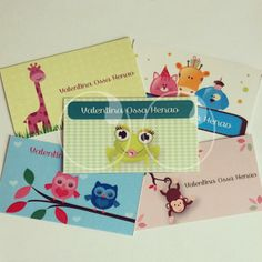 Tarjetas personalizadas para marcar los regalos de tus hijos.!!