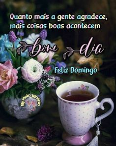 Mugs, Tableware, Good Morning Friends, Happy Day, Good Morning Wishes, Beauty, Domingo, Pictures, Dinnerware