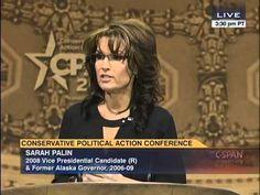 FULL VIDEO: Smoking Hot ~ Palin NUKES Obama, Dems & GOP ~ IN EPIC INSPIRING SARAH STYLE! #CPAC2014