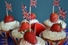 British cupcakes. What could be better?