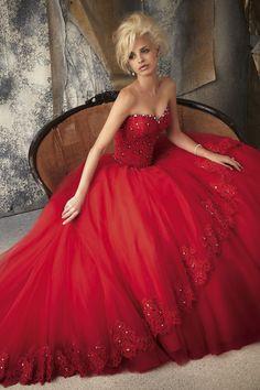 Red Wedding dress - Ladybird 2013