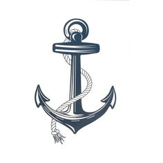 this is nice - textured but still sharp and clean - Anchor Print, by Daniella and Sandrine Maritime Tattoo, Silhouette Cameo, Silhouette Files, Anchor Tattoos, Navy Mom, Anchor Print, Pyrography, Clipart, Rockabilly