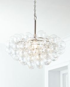 Shop Regina Andrew Design lighting at Horchow. Light up your home with these beautifully designed ceramic lamps, glass chandeliers, and more. Crystal Chandelier, Bubble Chandelier, Bubble Lights, Horchow, Pendant Lighting, Everly Pendant, Lighting Store, Ceiling Lights, Lights