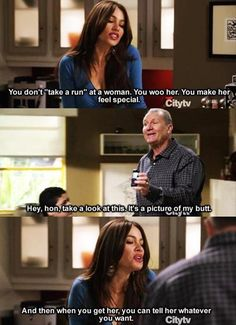 "When Gloria gave Manny dating advice. | 21 ""Modern Family"" Moments That'll Make You Laugh Every Time"