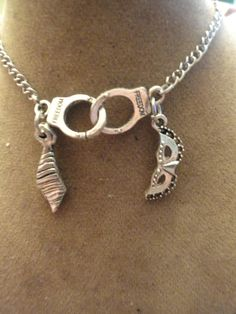 Fifty Shades Inspired Nacklace by WhimsicalForest on Etsy, $12.00