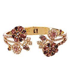 kate spade new york Trellis Blooms Hinge Cuff Bracelet #Dillards