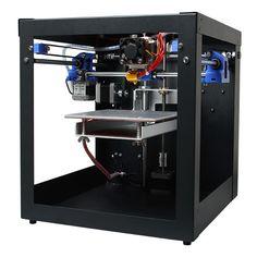 3D Printer Assembled Me Creator Mini Desktop Kit With 2004 Display 0.3mm Nozzle 1.75mm Material