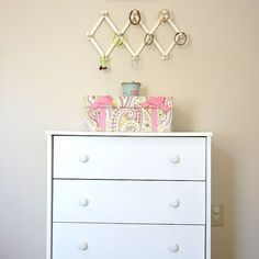 Diy Glitter Dresser Knobs-easy And Cheap!