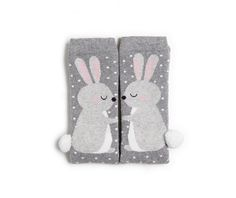 rabbit socks with pompons - Oysho