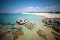 Google+  La plage de TREVIGNON, en Bretagne, France