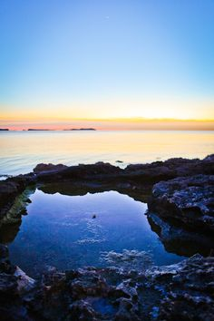 Sunset at Cafe del mar - ibiza #ibiza #sunset #charming #cafedelmar #nature #relax #blue #reflection #mediterranean #chilling