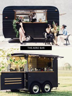 caravan bar 42221315245061922 - The 16 Cutest Mobile Bars for Your Wedding – Green Wedding Shoes Source by Mobile Bar, Mobile Shop, Mobile Food Cart, Food Cart Design, Food Truck Design, Foodtrucks Ideas, Coffee Food Truck, Bar On Wheels, Mobile Coffee Shop