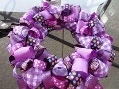 My next project...DIY Ribbon Wreath