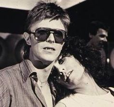 My main man (Bolan) and my side man (Bowie) together. #love