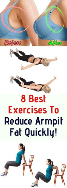Exercise alone is not enough to get rid of armpit fat but a healthy diet is also essential. If you would like to get rid of armpit fat fast then start with a healthy diet as well as doing the necessary exercises. Fitness Workouts, Yoga Fitness, Fitness Diet, Armpit Fat, Cardio Training, Belly Fat Workout, Keep Fit, Health And Fitness Tips, Burn Calories