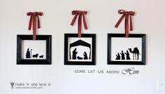 DIY Nativity scenes