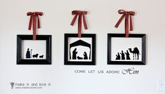 DIY Nativity scenes