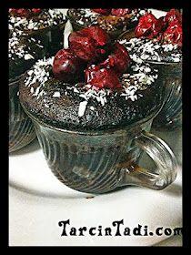fincanda vişneli brownie | Tarçın Tadında - pratik+hızlı+kolay yemek