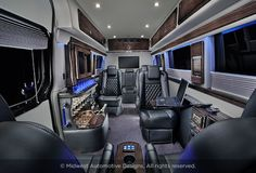 Luxury Mercedes Sprinter | Midwest Automotive Designs