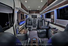Luxury Mercedes Sprinter | Midwest Automotive Designs