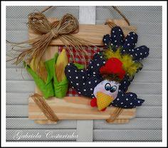 ## quadrinho Country ## by Gabriola Costurinha, via Flickr