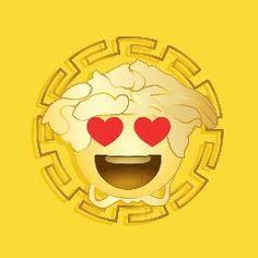 Ко Дню Святого Валентина итальянский дом создал собственное приложениеВзяв курс на освоение современных технологий на показе осень-зима 2015, Донателла Версаче продолжает ему следовать. За появлением хэштегов #Greek в коллекции Дома последовало создание клавиатуры Emoji Versace. «Мне нравится, что на