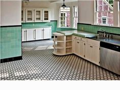 1940s Kitchen Floor