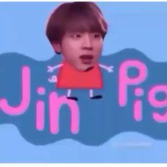 Bts Derp Faces, Meme Faces, Funny Faces, Bts Memes Hilarious, Bts Funny Videos, Funny Relatable Memes, Jin, School Tomorrow, Bts Face